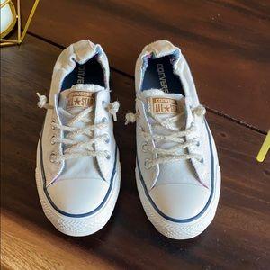 Converse All Star/ white tennis shoes